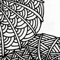 Shattuck - Hermit Werds - Zentangle pattern