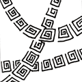 Ambler - Zentangle pattern