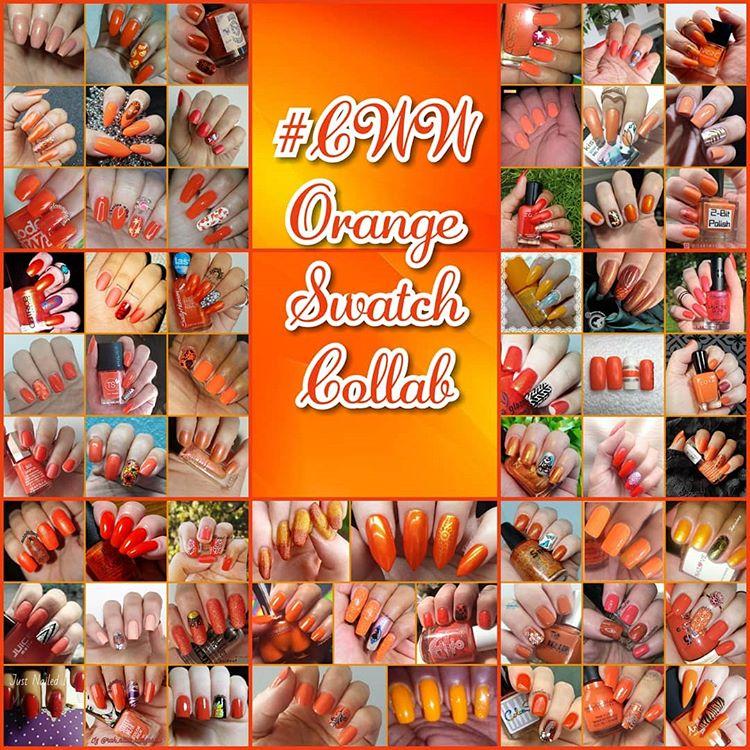 #ColoursWithinWomen - Orange collage