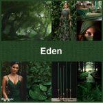 #pantone2019winterchallenge Eden