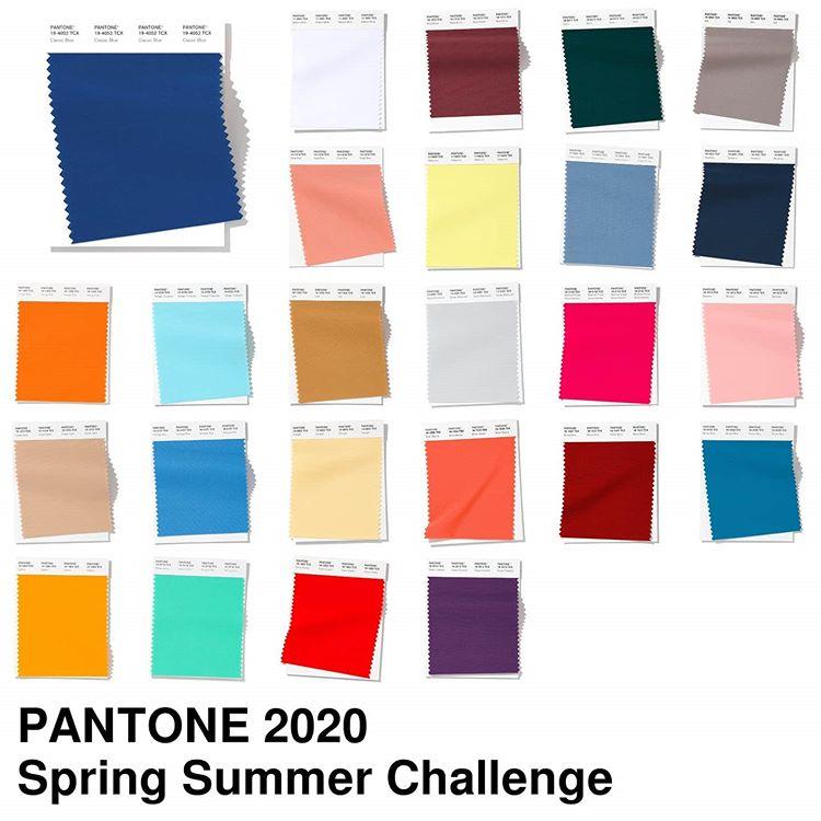 #Pantone2020SummerChallenge