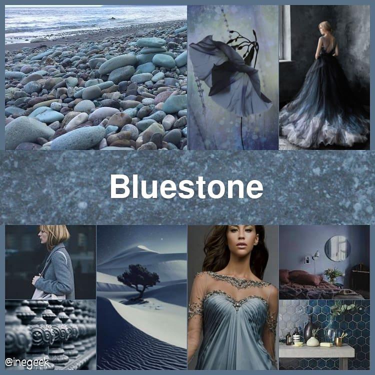 #Pantone2019WinterChallenge - Bluestone