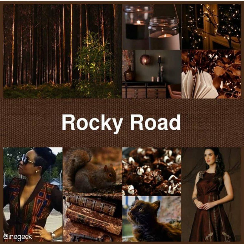 #pantone2019winterchallenge - Rocky Road