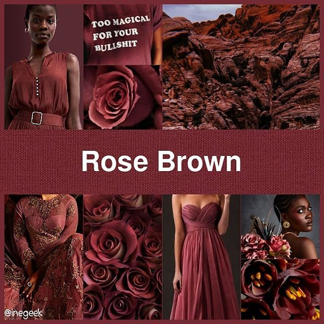 #Pantone2020SummerChallenge - Rose Brown