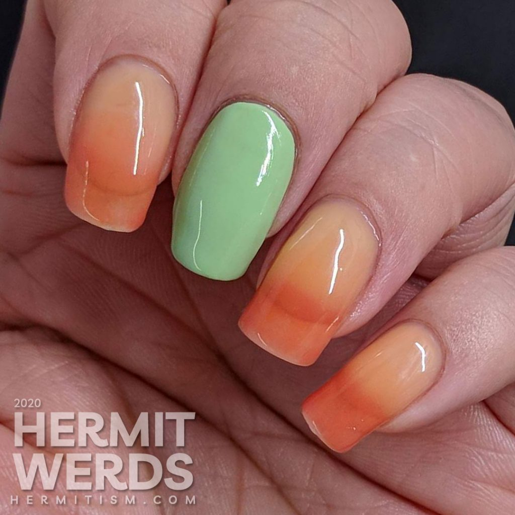 Meh thermal polish swatch