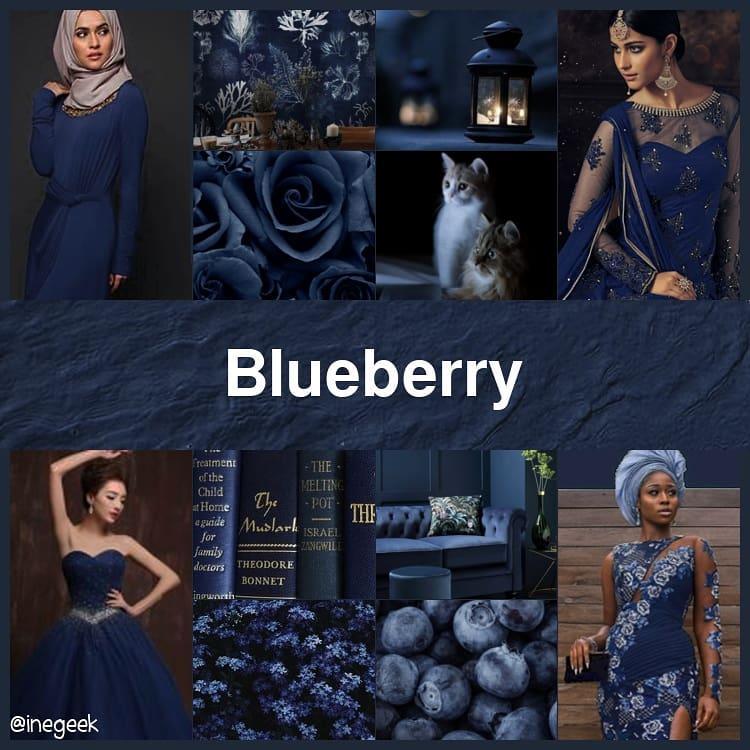 #pantone2020summerchallenge - Blueberry