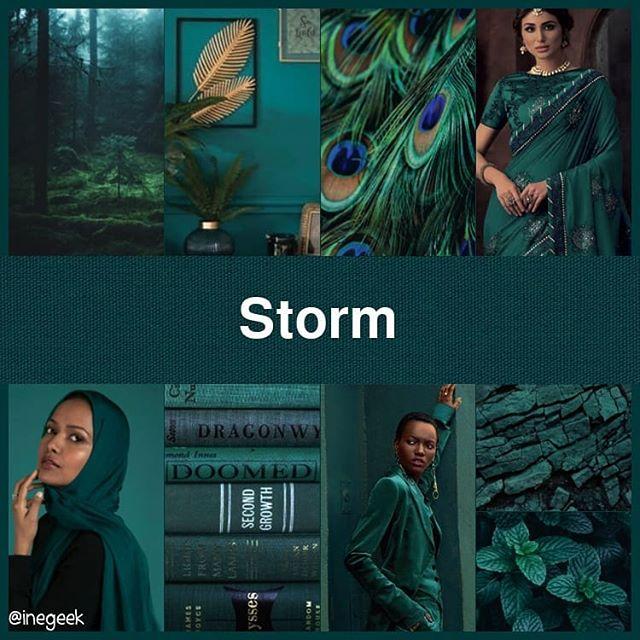 #pantone2020summerchallenge - Storm