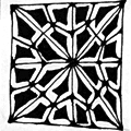 2V - Zentangle pattern