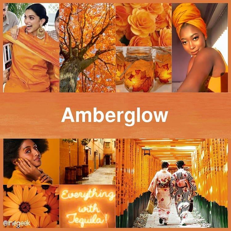 #pantone2020winterchallenge - Amberglow