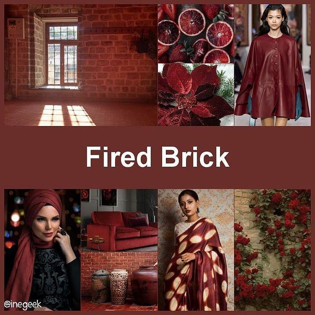 #pantone2020winterchallenge - Fired Brick