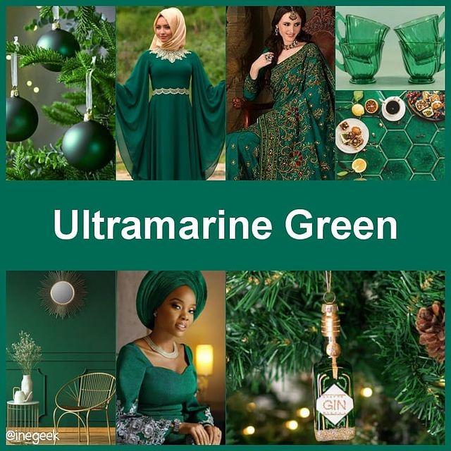 #pantone2020winterchallenge - Ultramarine Green