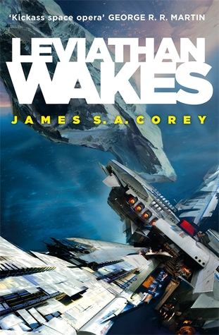 The Expanse by James S. A. Corey cover art of Leviathan Wakes