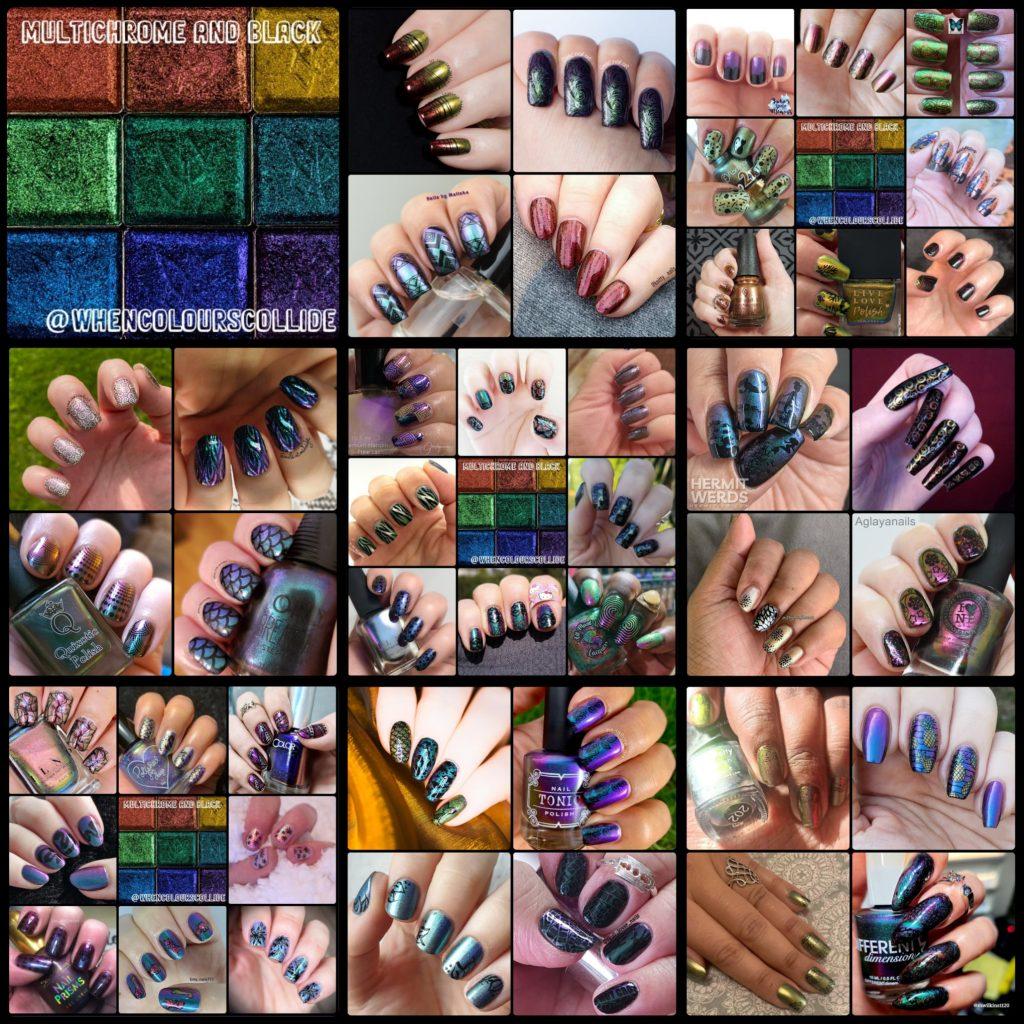 #WhenColoursCollide - Multichrome, Black